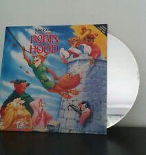 Láser disc Robin Hood Disney