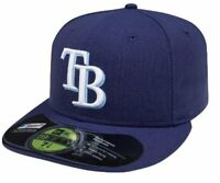 MLB Tampa Bay Rays Game AC On Field 59Fifty Fitted Cap-800