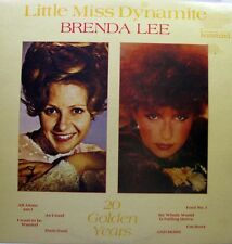BRENDA LEE Little Miss Dynamite LP - 20 Golden Greats