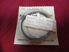 yamaha DT 125 piston rings new 444 11610 30