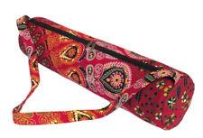 Indian Mandala Yoga Bag Handmade Large Gym Mat Carrier Bags With Shoulder Strap