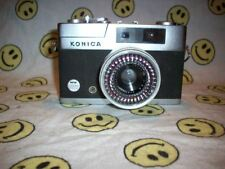 Vintage Konica EE Matic S 35mm Camera with leather case and strap, Sieko Lense