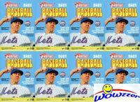 (8) 2021 Topps Heritage Baseball EXCLUSIVE Factory Sealed HANGER Box-280 Cards!