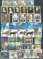 GR. BRITAIN 1997 Commemorative Year, 9 sets Mint NH