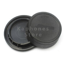 Lens Rear Cap and Body Cap for Nikon D750 D600 D5300 D7200 D3300 D810 D5500 D90