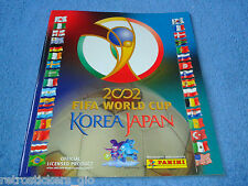 PANINI WC KOREA/JAPAN 2002 - EMPTY ALBUM - MINT!!!!