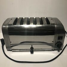 More details for dualit 6 slice stainless steel toaster a6br - spares/repairs
