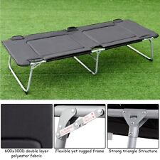 Folding Oversize Adult Portable Camping Sleep Bed Cot Military 250lbs Capacity
