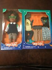 "My Life Mini  7"" School Boy Doll With Outdoor Outfits NIB"