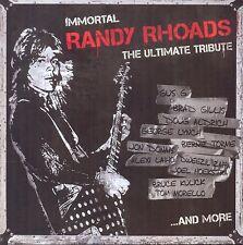 Ozzy Guitarist RANDY RHOADS New Sealed 2017 ROCK & METAL TRIBUTE CD & DVD SET