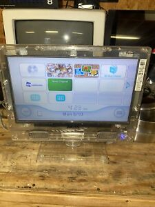 """Axess 13"""" Clear See Through LED Color TV Tv-1702-13CL Works! Prison Detention"""