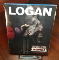 Logan(Blu-Ray)Deadpool Photobomb Slipcover-Brand NEW-Free S&H with Tracking