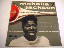 Mahalia Jackson – Songs For Christmas  EP 7'' Promo