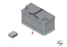 Genuine BMW Original Batería AGM - 90Ah para sistemas Start-Stop 61216924023