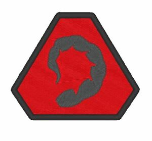E0184   GAME  COSPLAY PATCH - COMMAND AND CONQUER BROTHERHOOD OF NOD BADGE