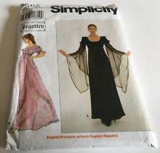 Simplicity Patterns Lot of 2 Romantic Dresses #8619 & 8912