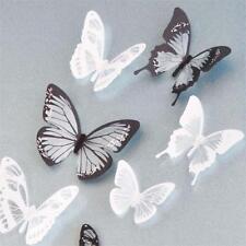 18X Wall Stickers Decal Hollow Butterflies 3D Wall Art DIY Home Decors Wedding