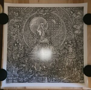 GHOST Life Eternal by ZBIGNIEW BIELAK  Ghost bc 2nd run of 25 prints