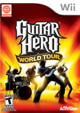 Guitar Hero: World Tour (Nintendo Wii, 2008) Game Only