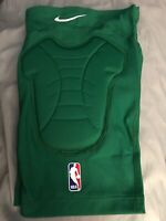 NIKE Authentic NBA Players Basketball Knee Pads XXL Brand New Nice Light Green