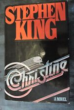 Stephen King Christine 1983 Hardcover 1st Edition (See Pictures/Description)