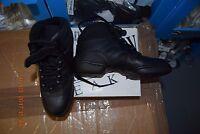 Black Roch Valley hi-top split sole jazz dance sneakers  - all sizes