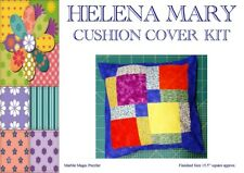 """Patchwork Kit Complete Cushion Cover Kit - Marble Magic Puzzler - 15.5"""" sq"""