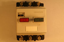 Siemens 3VE1010-2D Motor Overload Circuit Breaker Starter Protector 0.25A - 0.4A