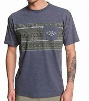 Quiksilver Mens Shirt Blue Size Small S Graphic Fisher Vinae Pocket Tee $28 #387