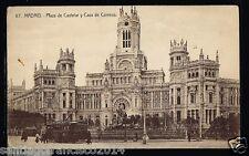 359.-MADRID -67 Plaza de Castelar y Casa de Correos  (H.A.E.)