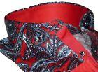 Men Shirt J.Valintin Turkey Usa Egyption Cotton Axxess Style 5406-04 Red