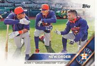 Jose Altuve 2016 Topps New Order Houston Astros  #170 baseball Card