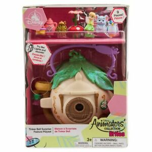 Authentic Disney Littles Tinker Bell Play Set with Mystery Figure New