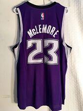 Adidas Swingman 2015-16 NBA Jersey Sacramento Kings Ben McLemore Purple sz 2X
