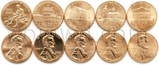 USA 5 coins set 2009-2013 Lincoln 1 cent (#1089)
