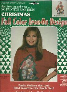 Plaid Fashion Show Originals - Iron-On Transfer - Surprise for Santa