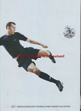 "Reebok Strike Zone ""Ryan Giggs"" 2003 4 Sided Magazine Advert #2800"