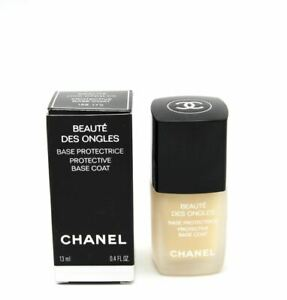 Chanel Beaute Des Ongles Protective Base Coat 100% AUTHENTIC (HARD TO FIND)