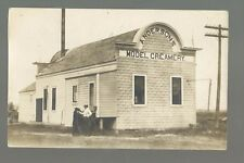 Belgrade MINNESOTA RP 1909 CREAMERY Anderson's Model nr Brooten TRAINED BEAR!