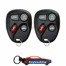2 Replacement for Cadillac Escalade - 1999 2000 Keyless Entry Car Fob Remote