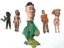4pc Antique Toy Story Book Germany Ed 12 Tonka Doll & Knickerbocker Puppet Lot