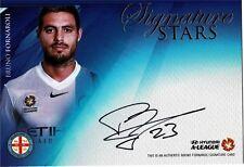 2016/17 FFA/A-League (TapNPlay) Signature Stars #45/180 - Bruno Fornaroli