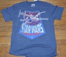 Star Wars X-Wing Fighter Jet Men's Graphic T-Shirt Tee Officially Licensed