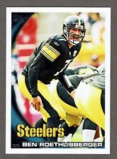 2010 Topps Football #280 Ben Roethlisberger Pittsburgh Steelers NMT