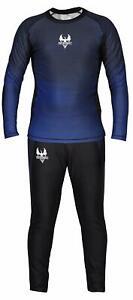 G4 Rash Guard with Trouser for MMA BJJ Base layer Jiu Jitsu Compression Leggings