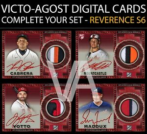 Topps Bunt REVERENCE S6 RED SIGNATURE SUPER RARE - COMPLETE YOUR SET [BUNT APP]