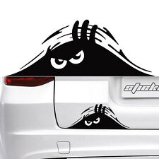 Funny Car SUV Exterior Rear Windshield Decorative Angry Peeking Monster Sticker