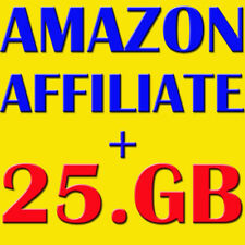 AMAZON AFFILIATE ebooks + video tutorials + bonus 25 GB products Files