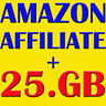 AMAZON AFFILIATE ebooks + video tutorials + bonus 25 GB products