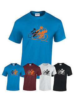 Road Bike cycling city bike - riding funny t-shirt gift